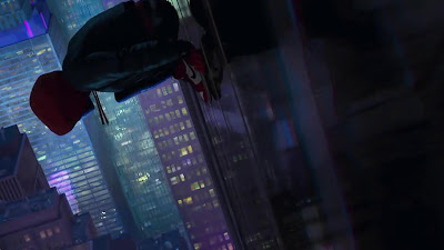 spider man into the spider verse movie wallpaper