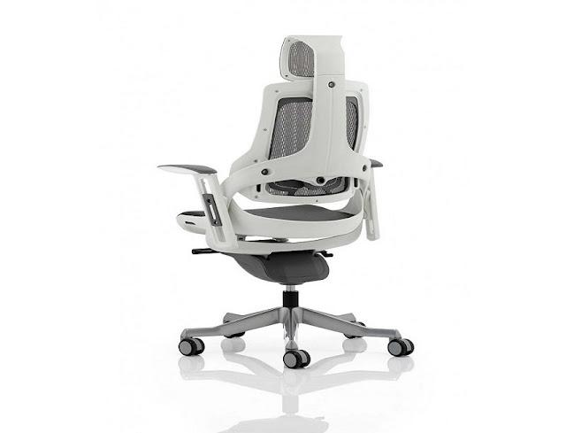 best buy modern ergonomic office chair white for sale