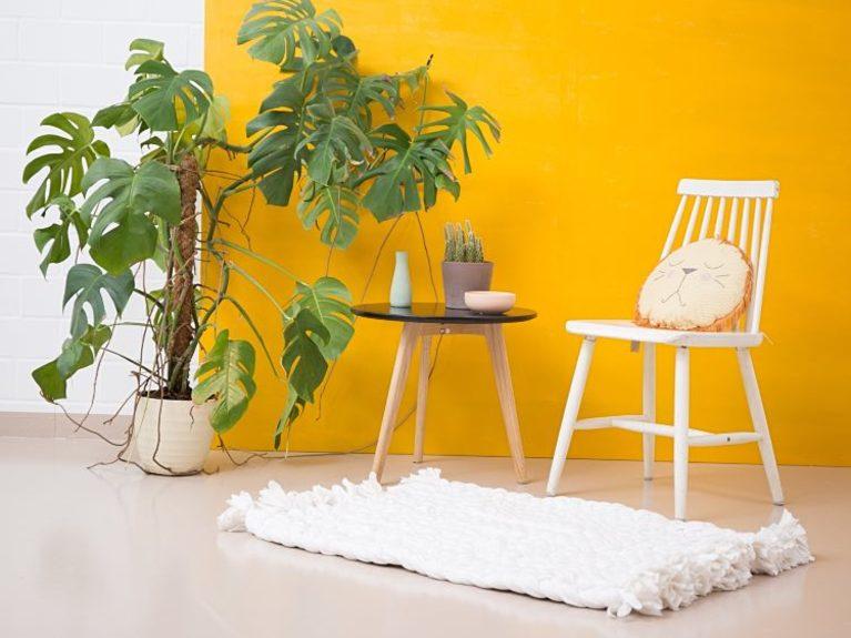 Ikeahack alfombra con mantas de ikea diariodeco - Alfombra blanca ikea ...