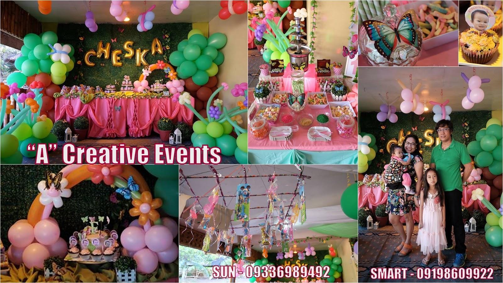 Enchanted Garden Theme Party Davao City Philippines