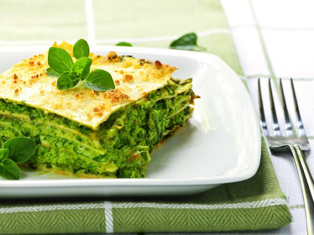 green lasagna