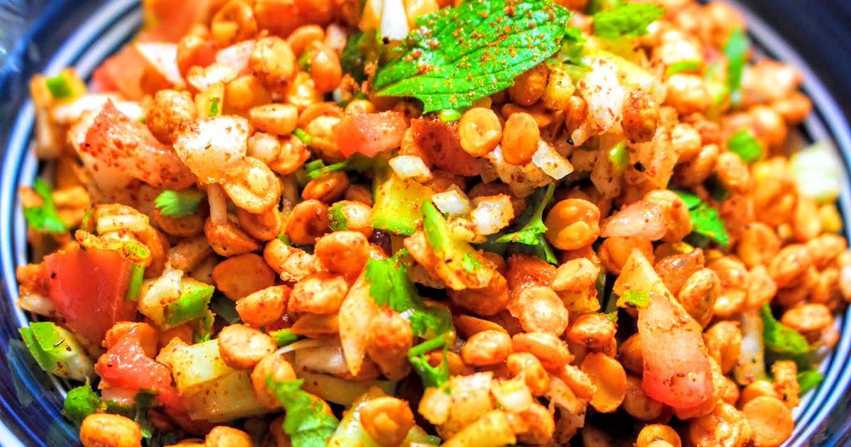 Kitchen Kathiawar Masala Chana Dal Chaat