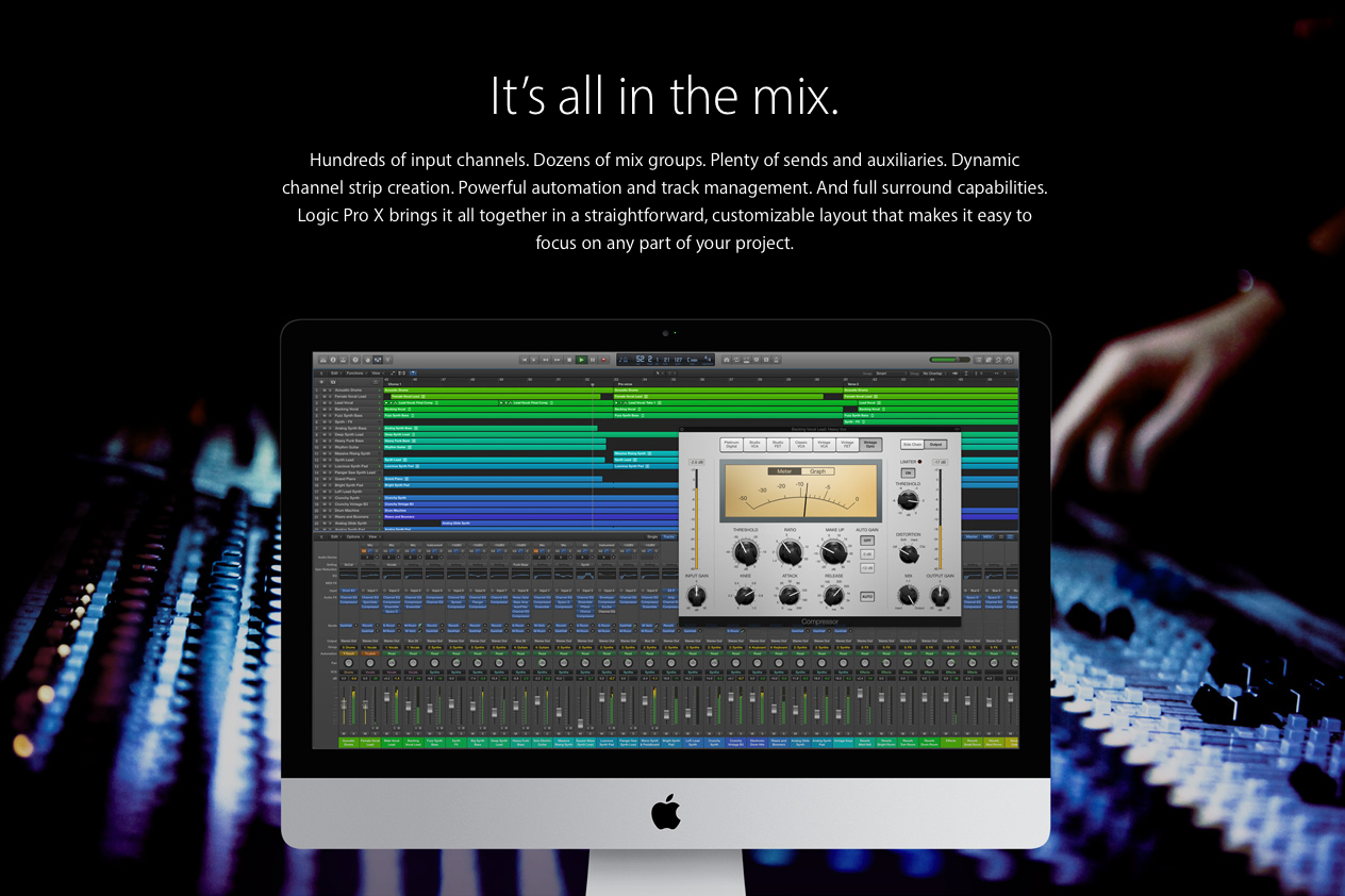 logic pro x 10.4 sound library download