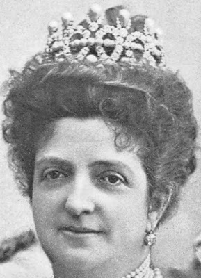 Pearl Tiara Queen Margherita Italy Savoy Musy