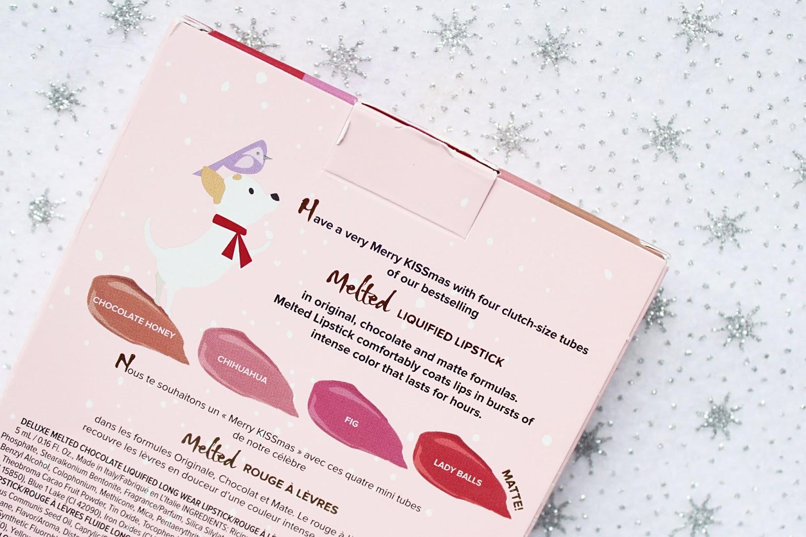 Too Faced Merry Kissmas Gift Set