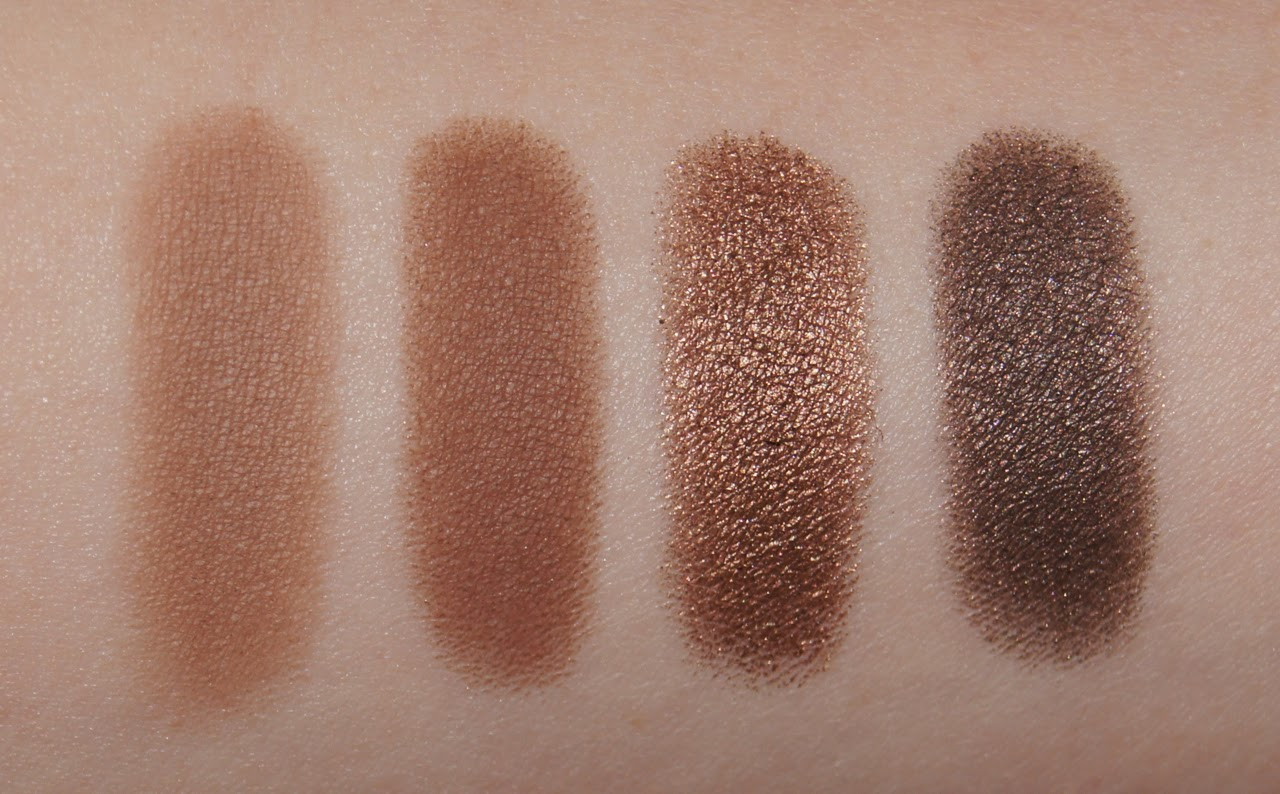 urban decay naked buck smog darkhorse eyeshadow swatches
