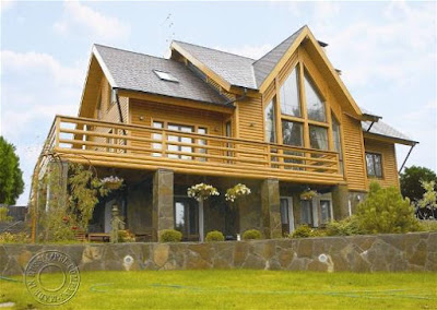 wood style house 03