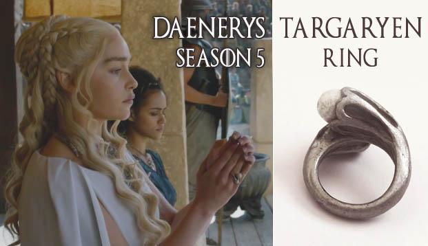 Jellyfish soup daenerys ring game of thrones season 5 for Daenerys jewelry season 7