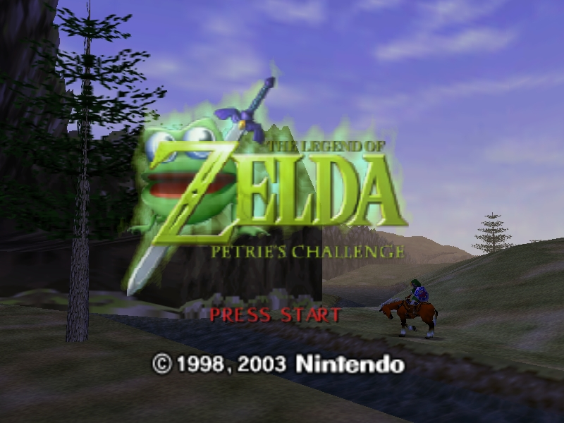 Legend of Zelda The - Petries Challenge Hack rom