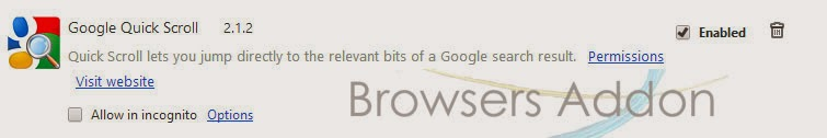 Google Quick Scroll_disable_remove