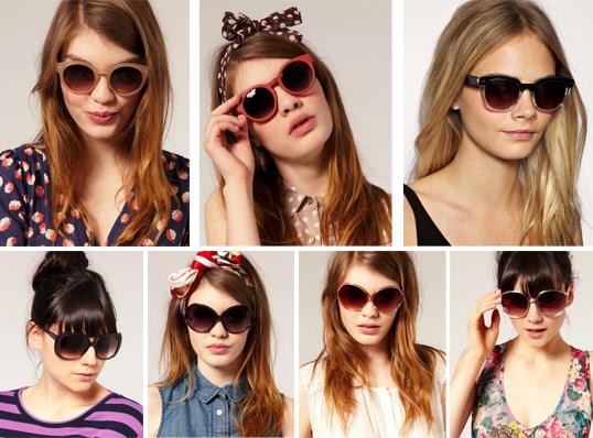 72b018bf2cedf Girls For Always  Tendência  Óculos Retrô