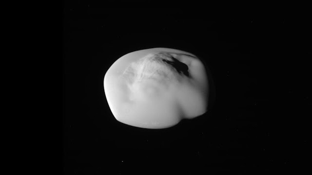 Saturn's moon Atlas