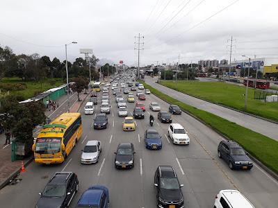 Autopista Norte, Bogotá D.C., Colombia.