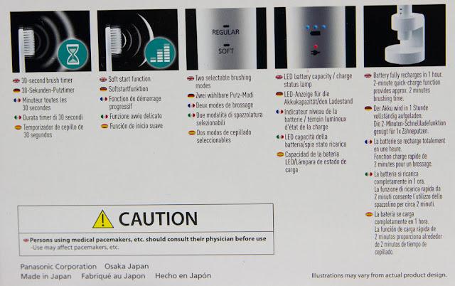 Panasonic - Schallzahnbürste EW-DL83