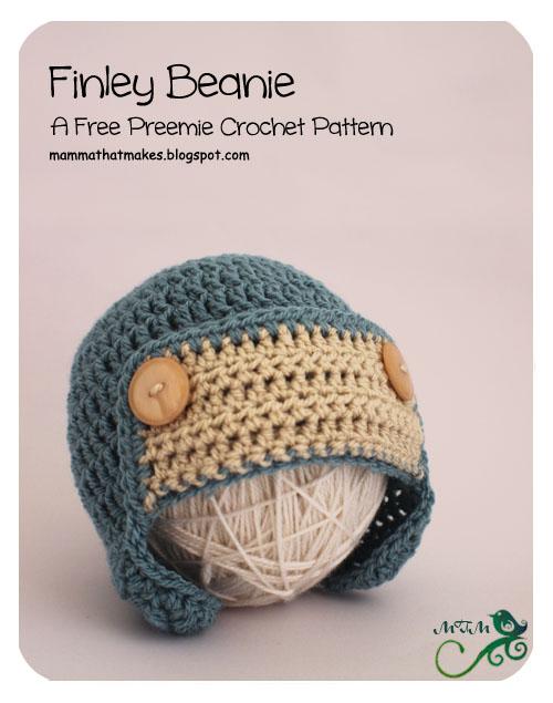17 Finley Newborn Beanie