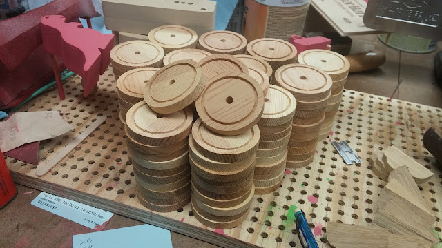 Wooden Toy Wheels for Model A Norm Marshal