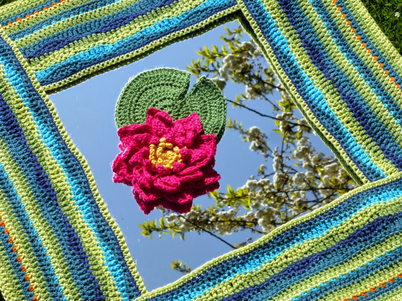 Mrs Thomasina Tlemouse Lily Pond Crochet