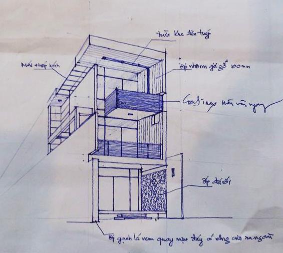 Thiết kế nhà phố đương đại