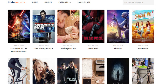 Bikin Film Movie And Streaming Responsive Wordpress Themes