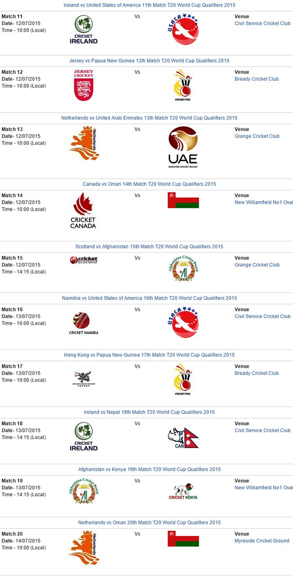 t20-world-cup-qualifier-2015-schedule