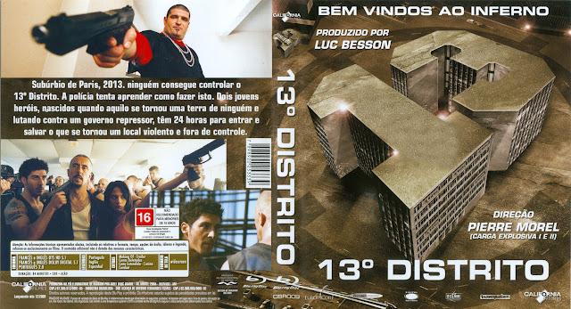 Capa Blu-ray 13º Distrito