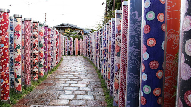 Forêt de Kimonos Gare Arashiyama