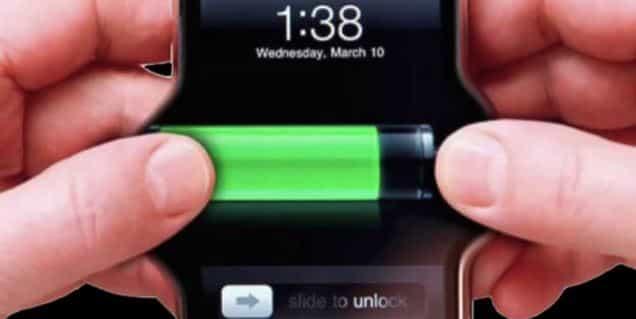 تمديد بطارية هاتف