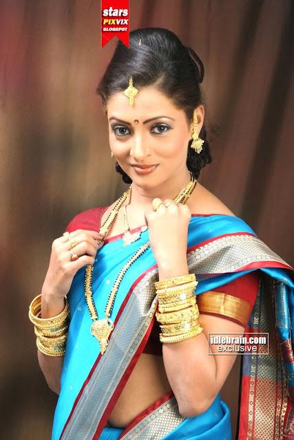 Nisha Parulekar Photos In Saree  Cute Marathi Actresses -5542