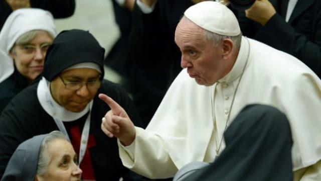 Paus Fransiskus Minta Suster dan Pastor Tak Sebarkan 'Bom Gosip'