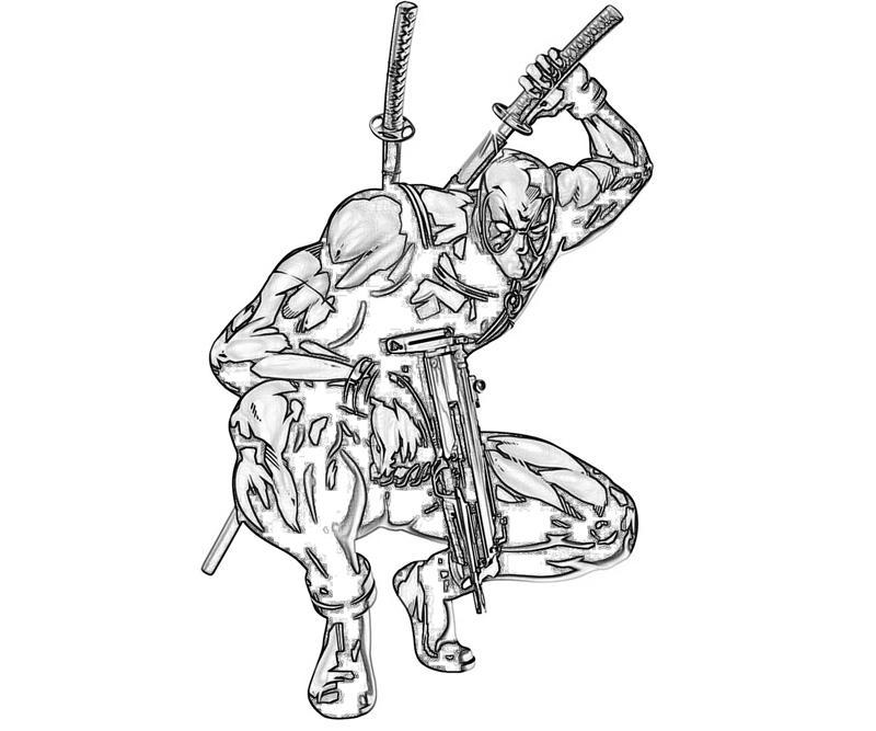 Marvel vs Cap Deadpool Fight Yumiko Fujiwara
