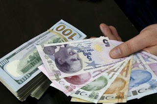 Orta vadede dolar out, TL in