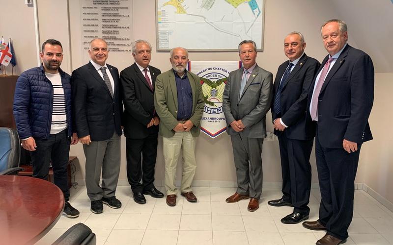 Εκπρόσωποι της ΑΧΕΠΑ στον Οργανισμό Λιμένα Αλεξανδρούπολης