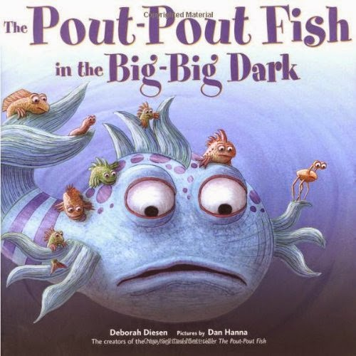 The Pout-Pout Fish in the Big-Big Dark by Deborah Diesen, included in a book review list of ocean books for preschoolers