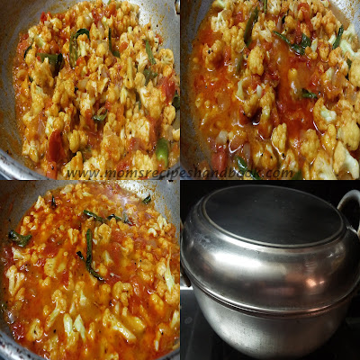 Cauliflower Tomato Curry Andhra Style How to Cook