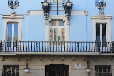 City hall of Gràcia district