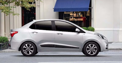 2017 Hyundai xcent facelift side look