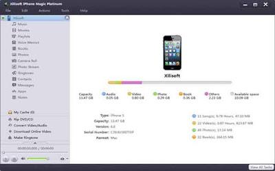 Xilisoft iPhone Magic Platinum 5.7.27