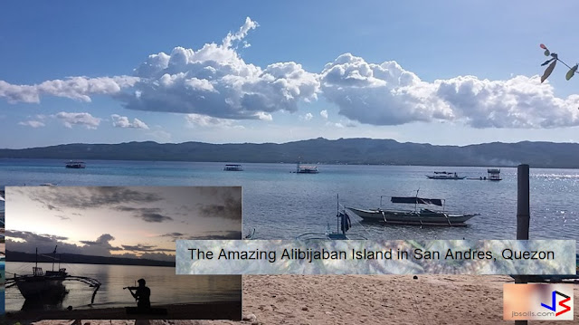 The Amazing Beauty of the Alibijaban Island in San Andres, Quezon