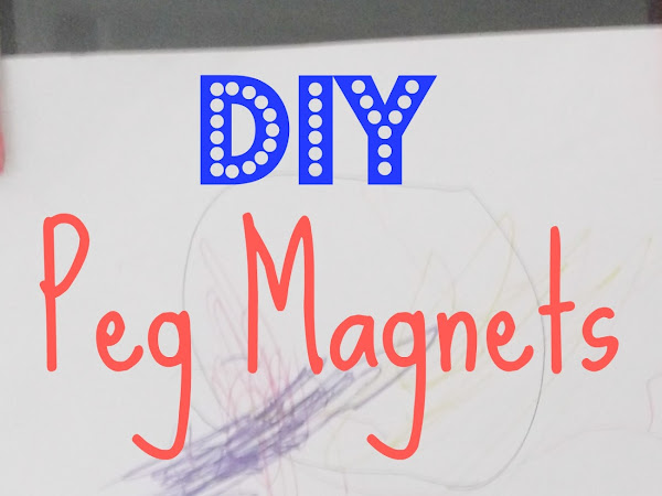 Peg Magnets DIY