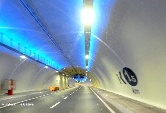 Avrasya tünelinden resimler