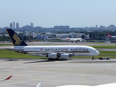 Two Singapore A380's sold for parts