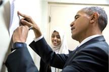 سودانية تذهل  باراك أوباما وتجبره على التصفيق لها