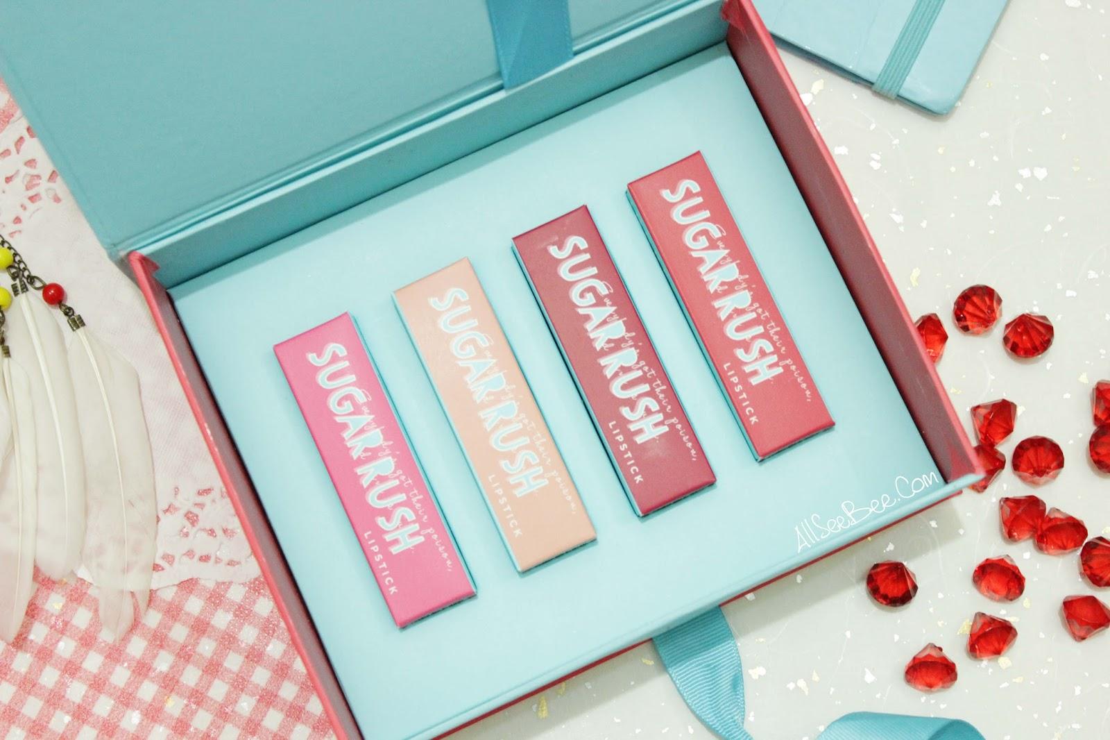 Sugar Rush Lipstick 04 Maroon Macaroon 3 8 Gr Daftar Harga Terkini Cookie Dough 02 Emina 38gr Namanya Pun Unik Dari Kiri Ke Kanan Ada Pink Velvet