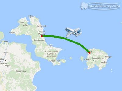 Penerbangan Belitung-Bangka