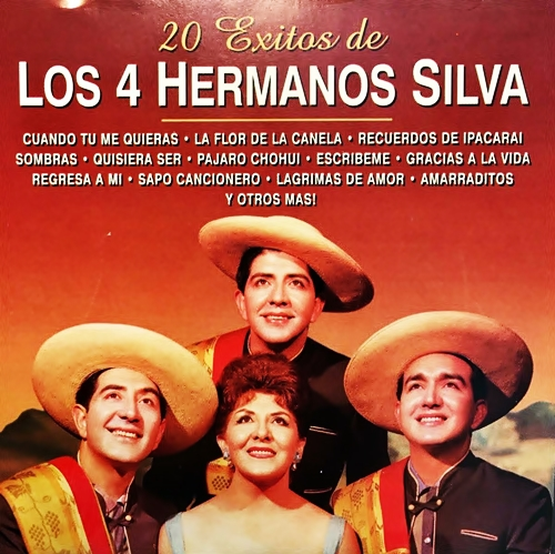 Lyrics de Los Cuatro Hermanos Silva