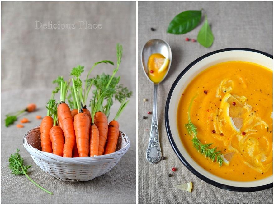 Zupa marchewkowo-cytrusowa