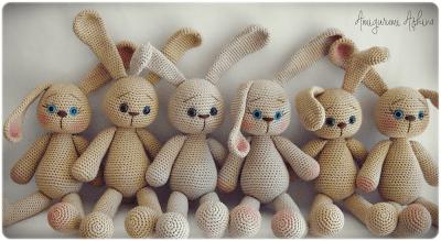 Ve Tavşanlar Topluluğu-Amigurumi Rabbit