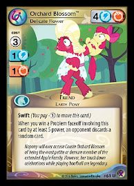 My Little Pony Orchard Blossom, Delicate Flower Marks in Time CCG Card