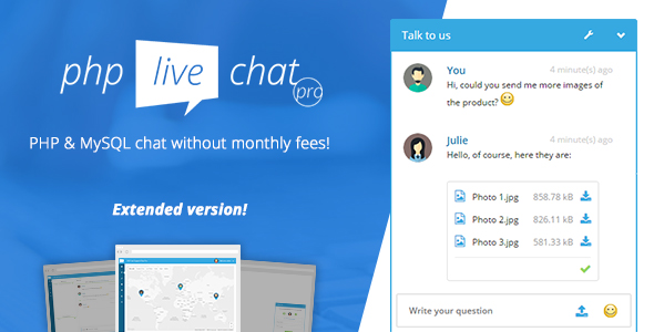 Script PHP Live Chat Pro Nulled