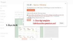 Hướng Dẫn Cài Đặt Template TinhDauOnline V6.x cơ bản